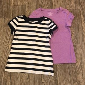 2 Talbots Stretch Weekend Tees Mp